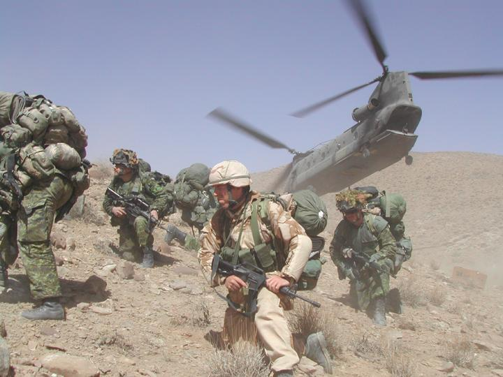 troops to the desert in the wrong color uniforms making it easier to